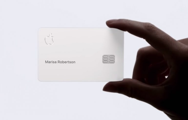 Apple confirms the Apple Card to launch commercially in August