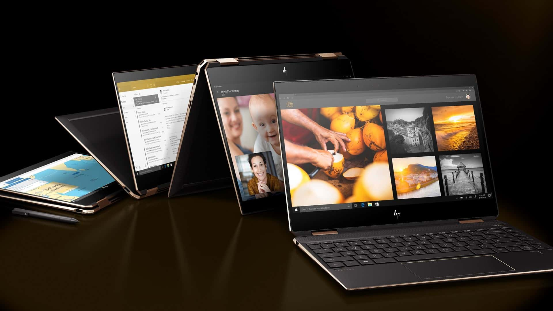 HP Spectre Folio and Spectre x360