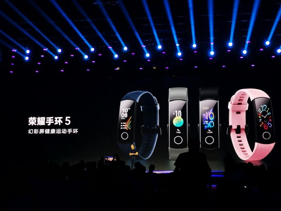 Honor Band 5 launched in China priced at $28 (~Rs 1,900)