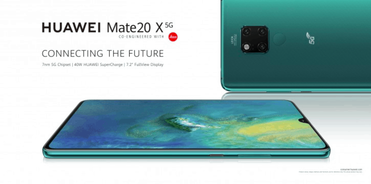 Huawei's first 5G phone Mate 20 X 5G finally goes on sale