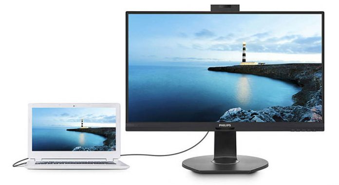 Philips launches pair of hybrid USB docking monitors