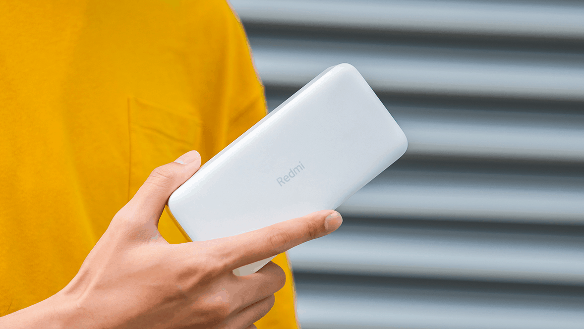 Xiaomi releases Redmi Powerbanks in 10,000 and 20,000 mAh capacity