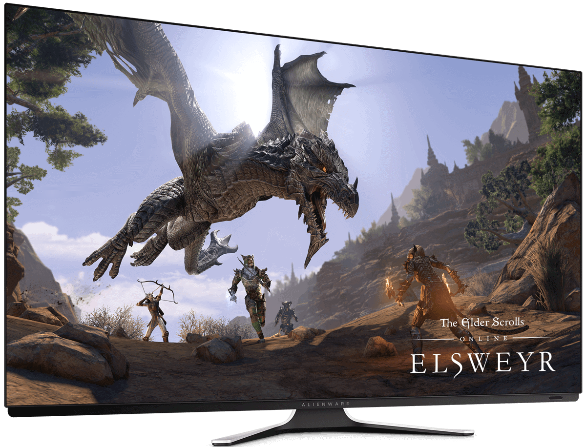 Alienware AW5520QF 55 OLED Gaming Monitor