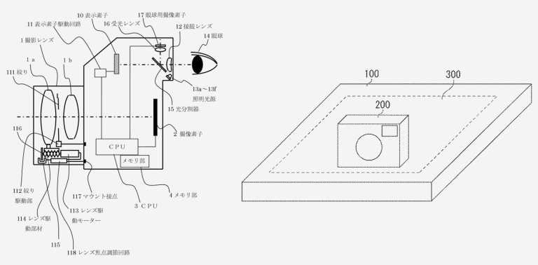 Canon's new patent gives us a first look at wireless charging for cameras & eye-controlled AF