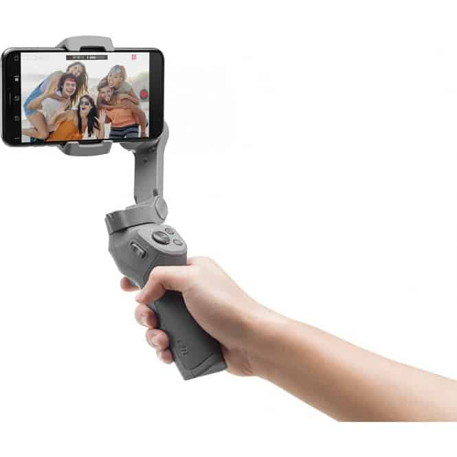 DJI Osmo Mobile 3 official with foldable design, priced at $119