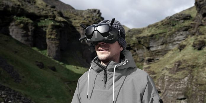 DJI launches FPV goggles and camera for high-definition drone racing and filming