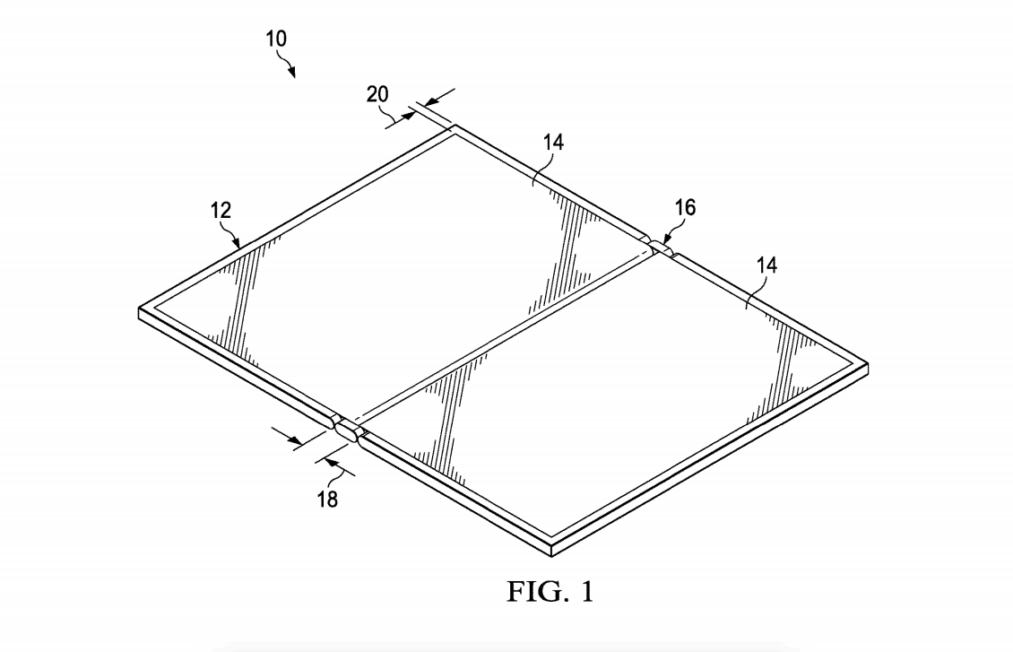 Dell patents 2-in-1 foldable display PC with narrow bezels