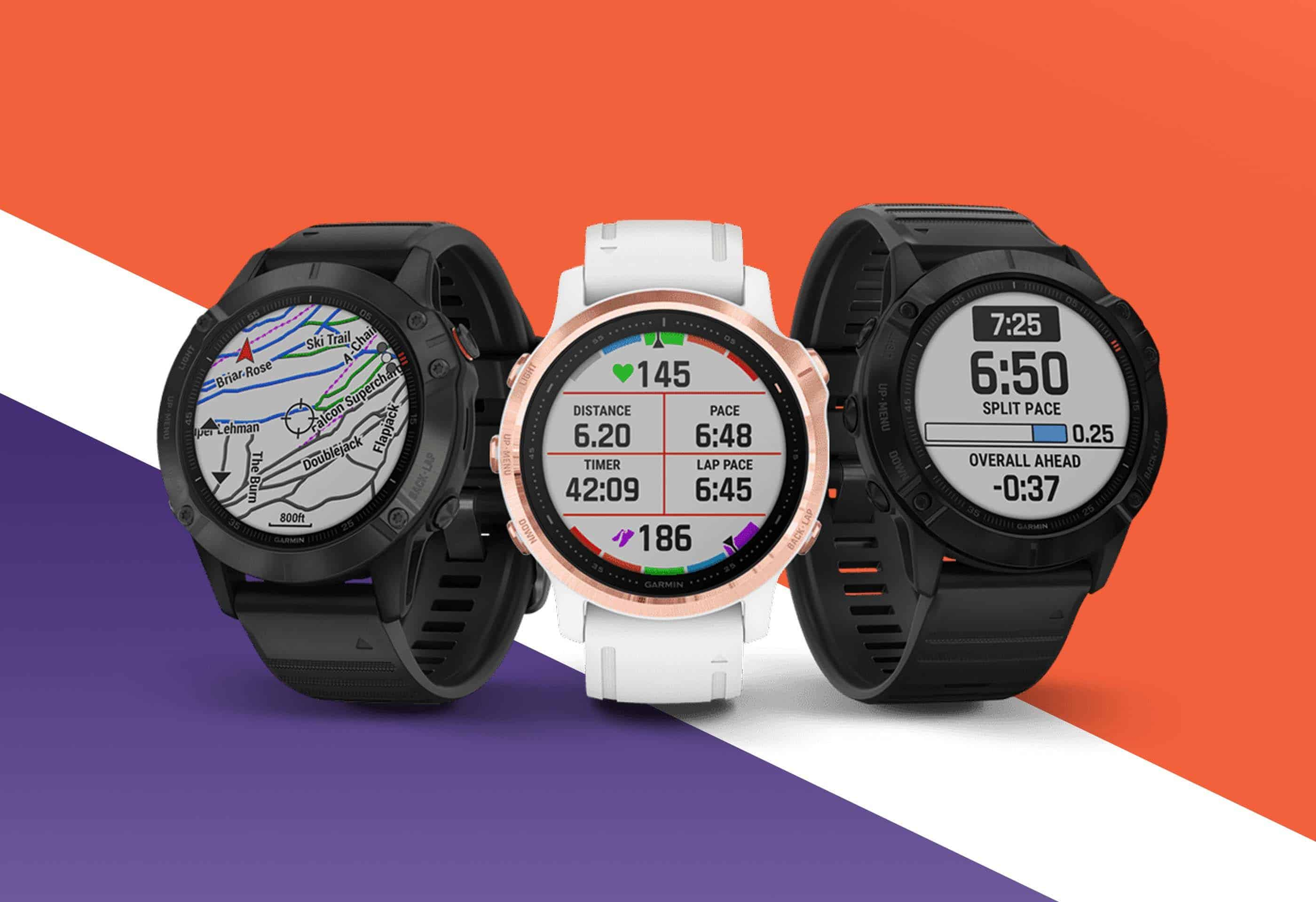Garmin launches Fenix 6, 6S and Fenix 6X Pro smartwatches with solar charging feature