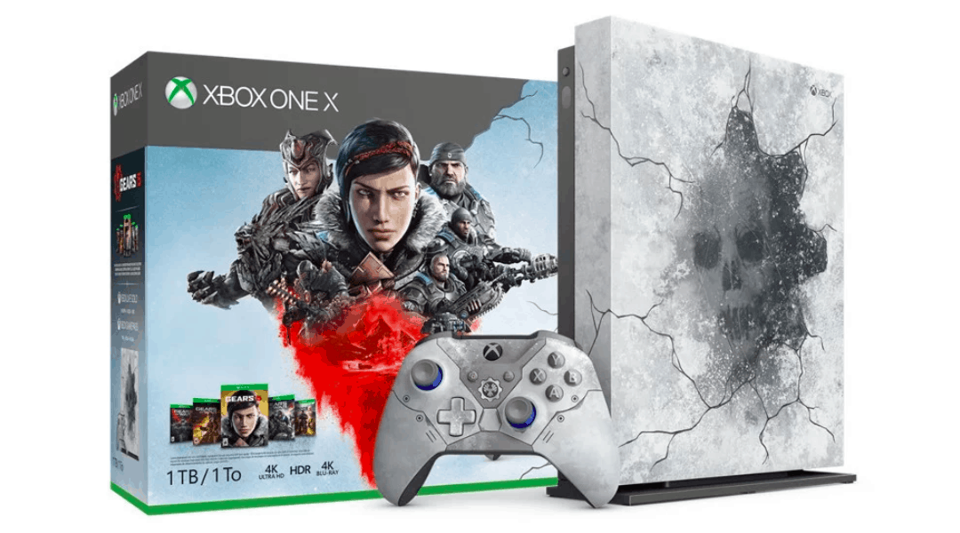 Microsoft reveals Gears 5 Limited Edition Xbox One X priced at $500