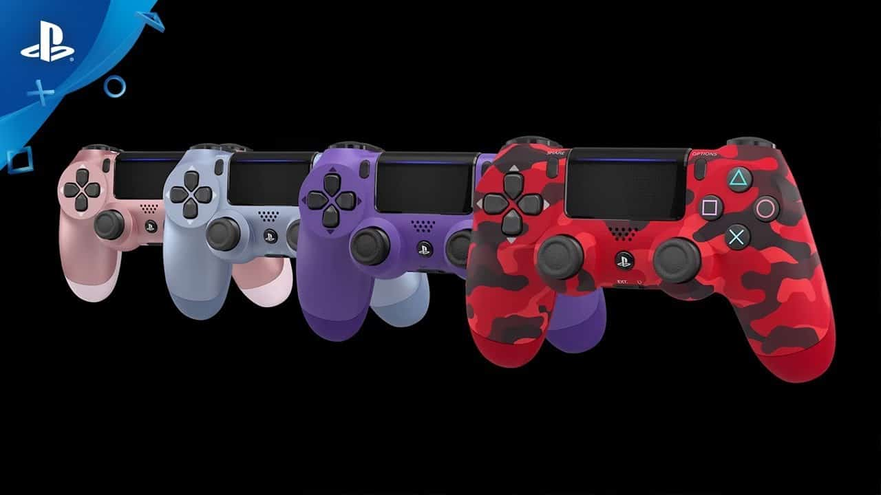 New PS4 DualShock 4 controllers coming in 4 new colors for $64 on September