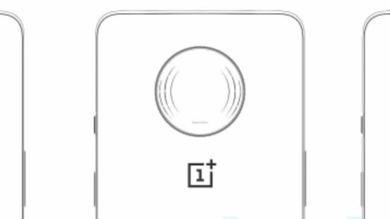 OnePlus 7T Pro sketch and render reveals circular rear camera setup