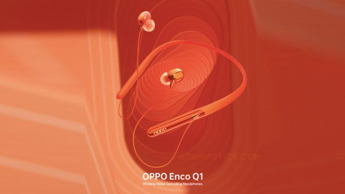 Oppo ENCO Q1 Headphones to launch on August 28 in India