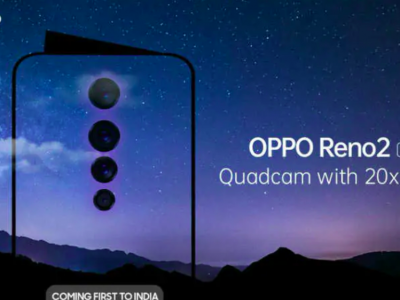 Oppo Reno 2 launching in India on August 28; 20x Zoom, Quad Camera