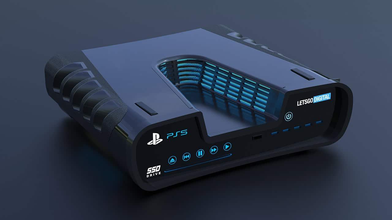 PlayStation 5 design rendered based on patent leaks