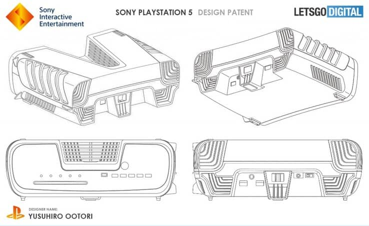PlayStation 5 patent suggests a V-shaped design and a bulkier look