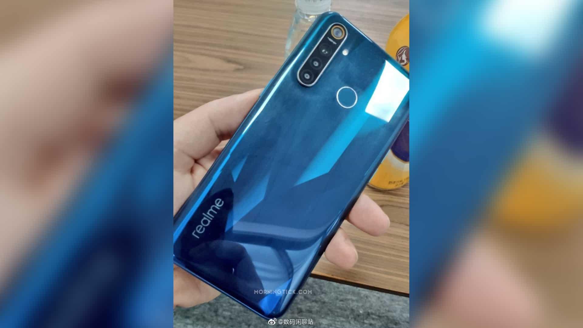 Realme 5 Pro hands-on image leaked, shows rear-mounted fingerprint scanner