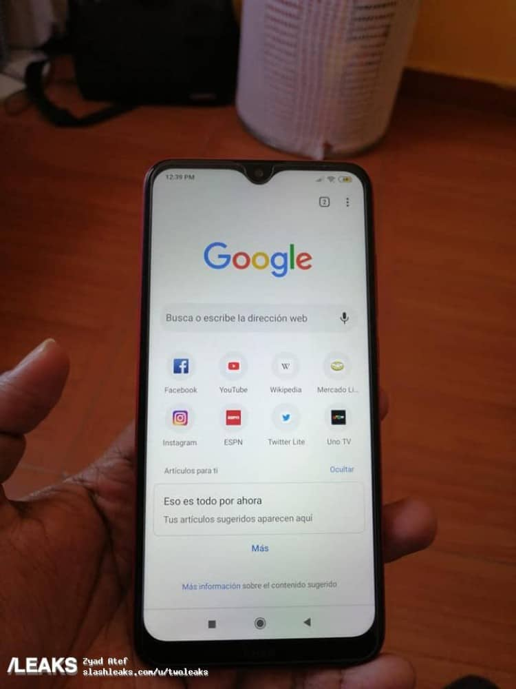 Redmi 8A live images leaked, suggest Snapdragon 439 SoC