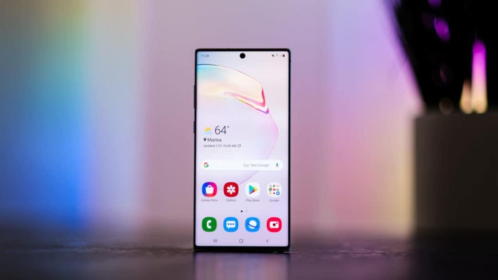 Samsung Note10 + 5G DxOMark score