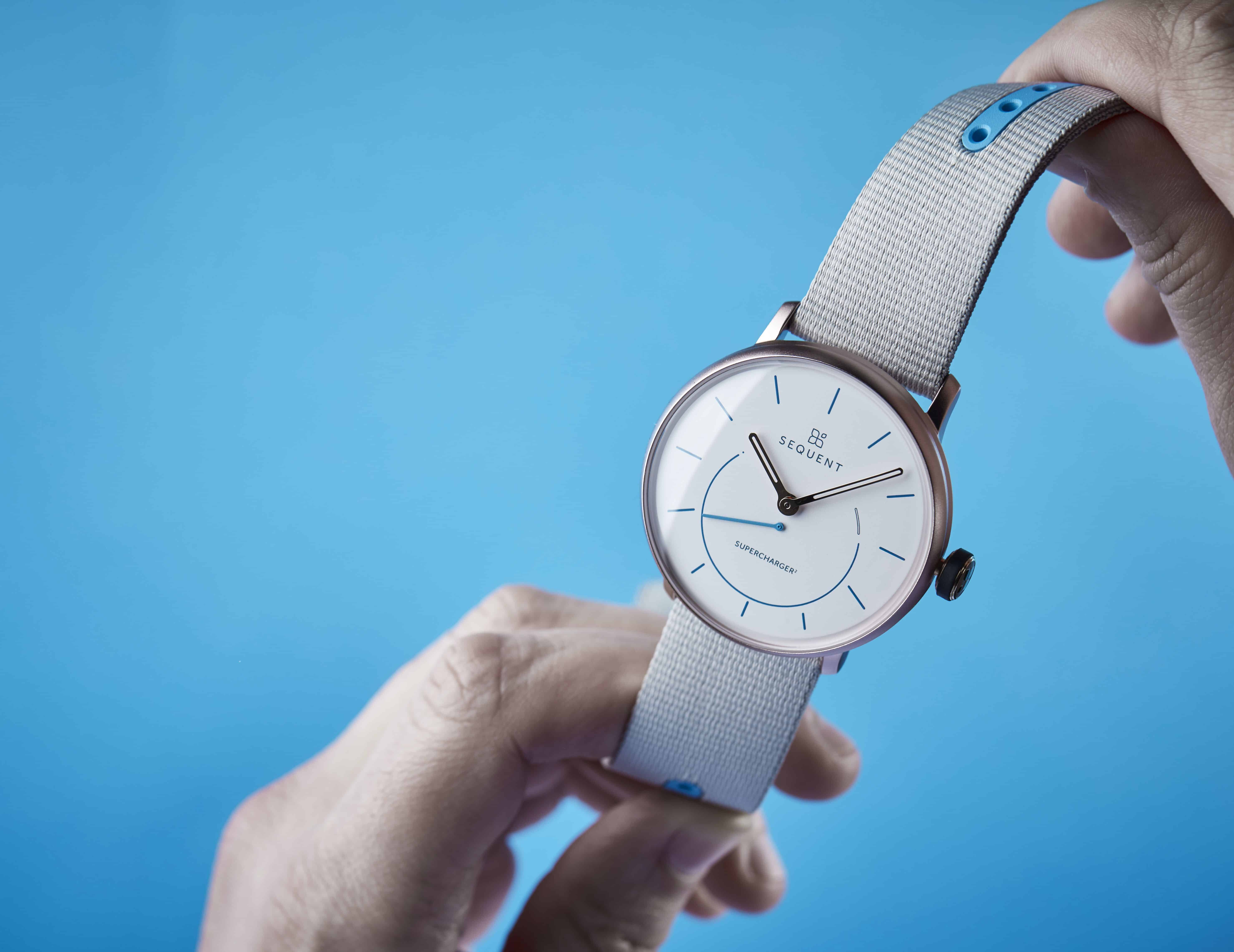 Sequent SuperCharger2 smartwatch gets powered by human body movements