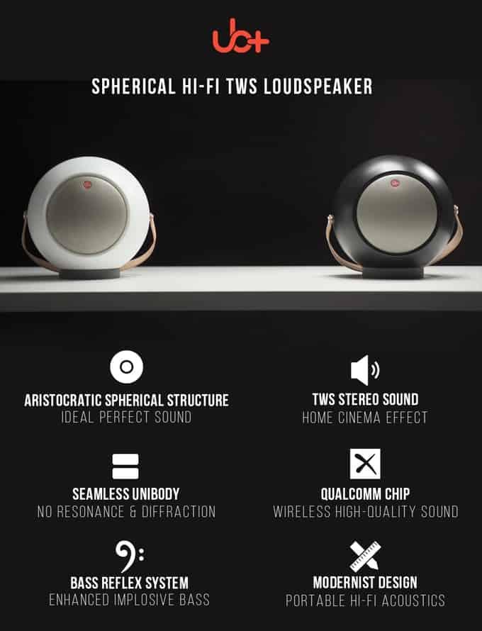 UB+ E2 Bluetooth Speaker relaunched on Kickstarter with TWS surround sound