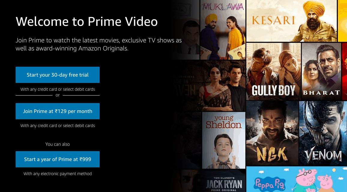 Amazon Prime Pricing