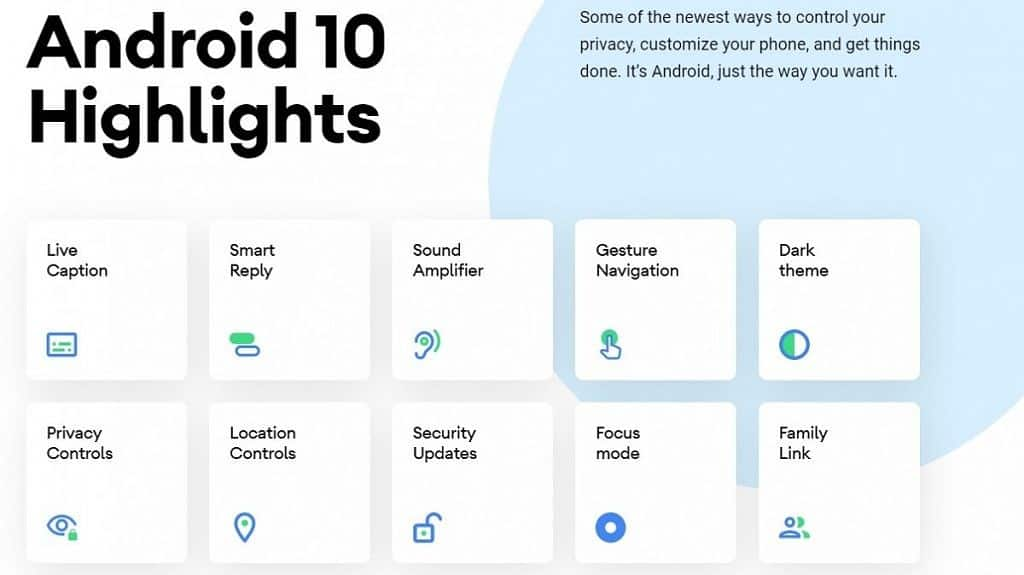 Android 10 officially rolling out to Google Pixel smartphones