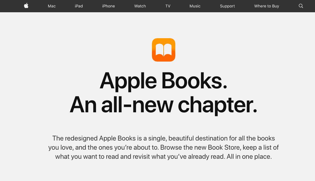 Apple Books - Audible Alternatives