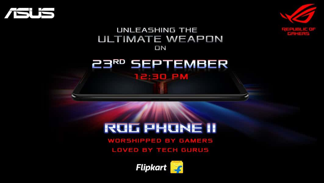 Asus ROG Phone 2 launching in India on September 23