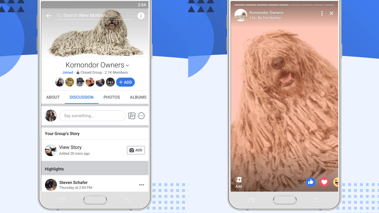 Facebook Group Stories 'no more' from September 26