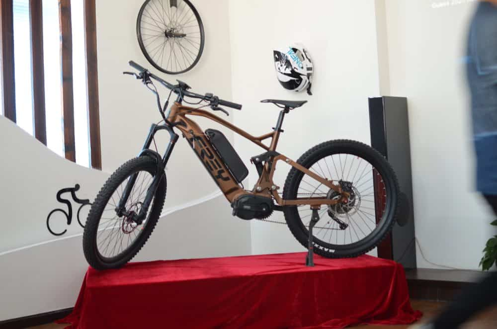 Frey Bike launched a new commuter style e-bike for mountain riding
