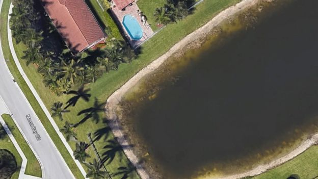 Google Maps helps find a sunken car with a dead body after 22 years