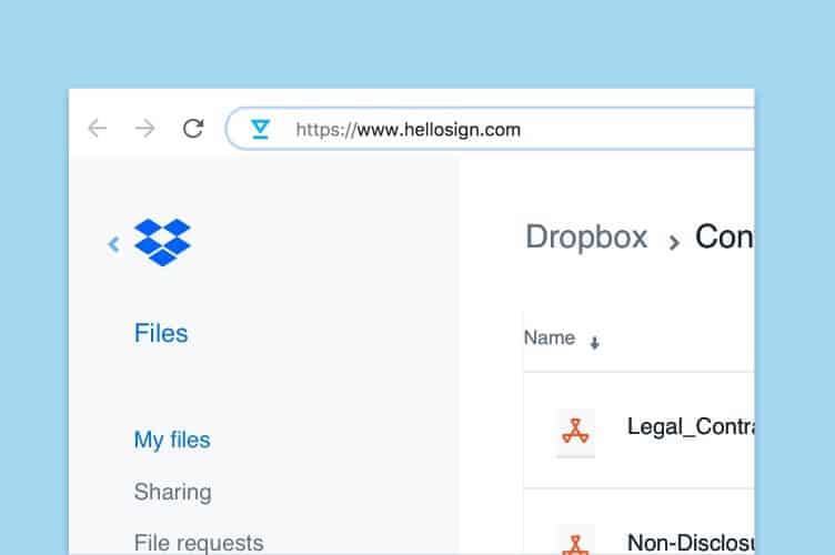 HelloSign - DocuSign Alternatives