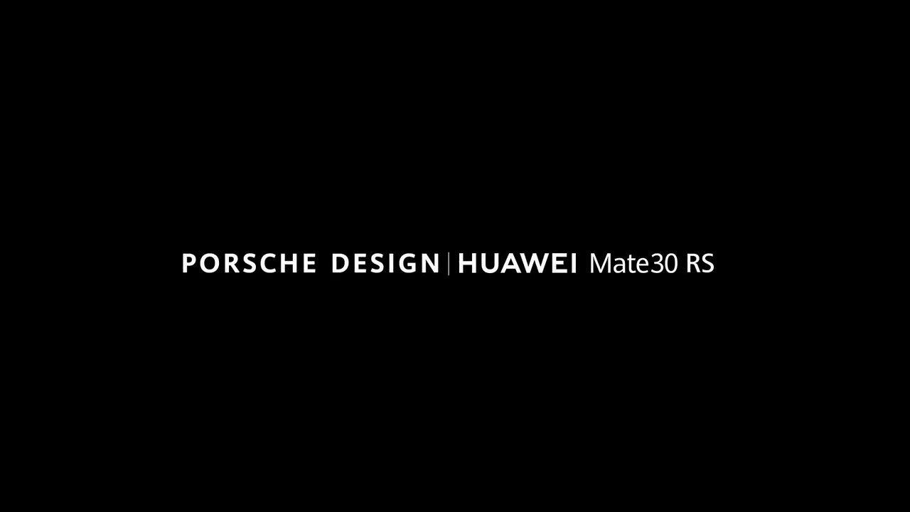 Huawei Mate 30 RS Porsche Design will be launched alongside Mate 30 series