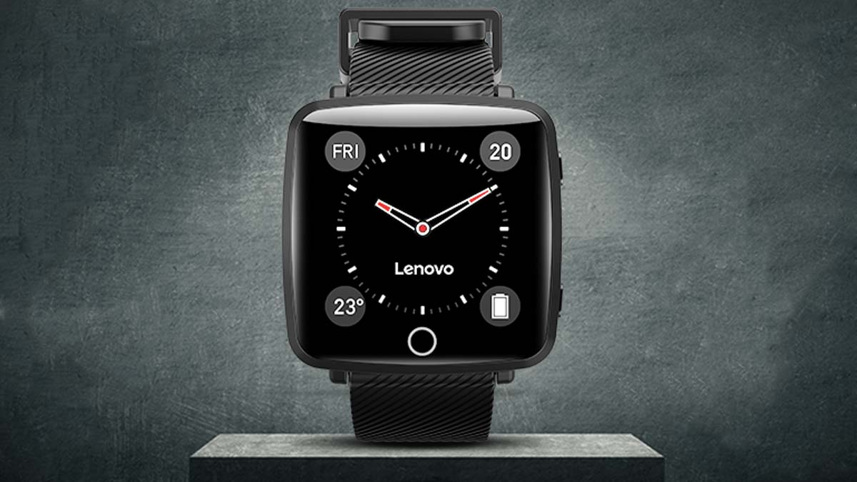 Lenovo Carme smartwatch makes debut in India, priced at Rs. 3,499