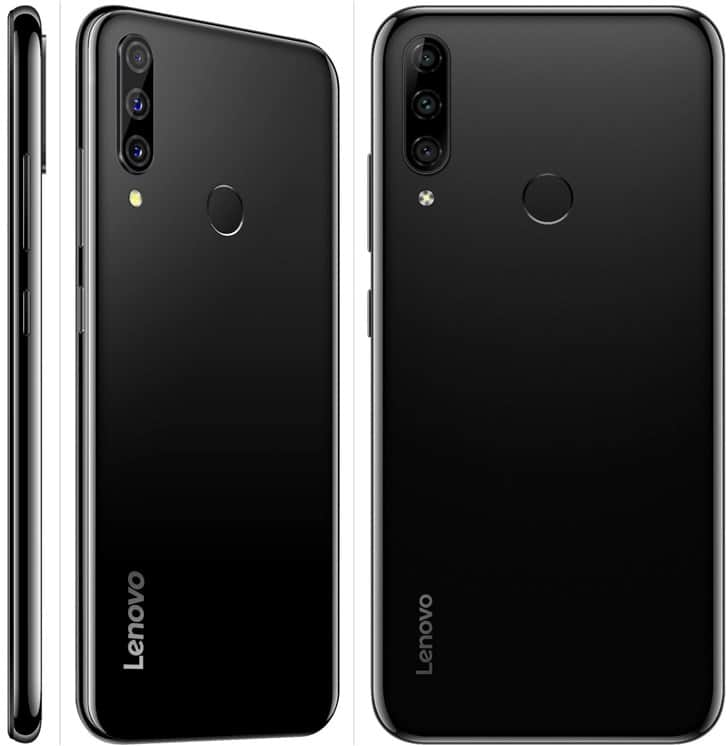 Lenovo K10 Plus renders