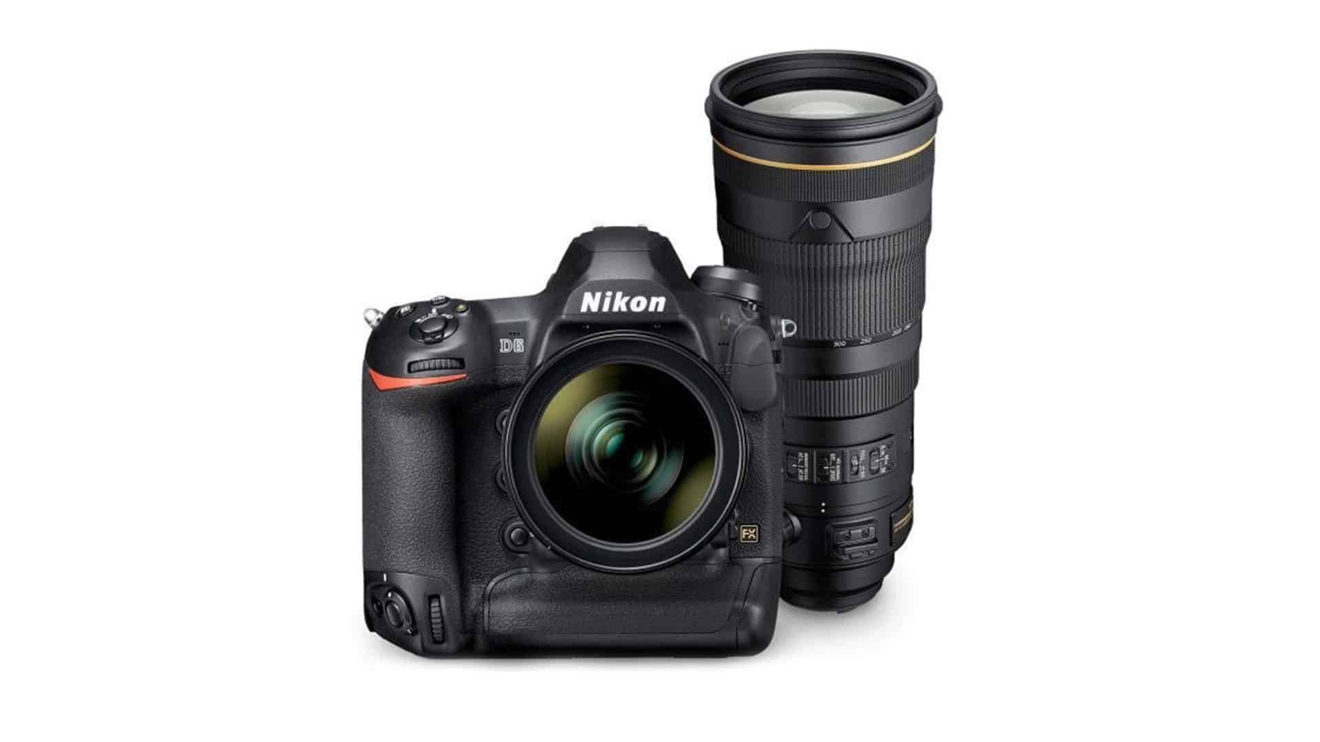 Nikon D6 DSLR, the most advanced digital SLR finally announced