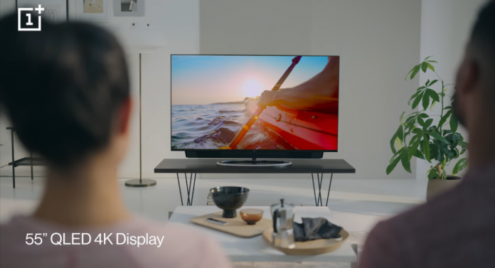 OnePlus TV 55″ 4K QLED TVs launched in India starting at Rs. 69,900
