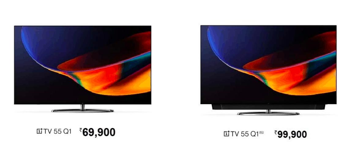 OnePlus TV 55 Q1 and OnePlus TV 55 Q1 Pro 4K QLED TVs