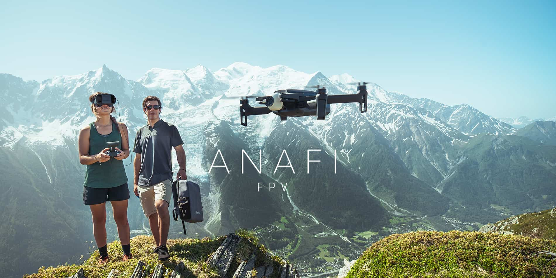 Parrot Anafi FPV Drone Unveiled; 21MP Camera, 4K HDR Recording