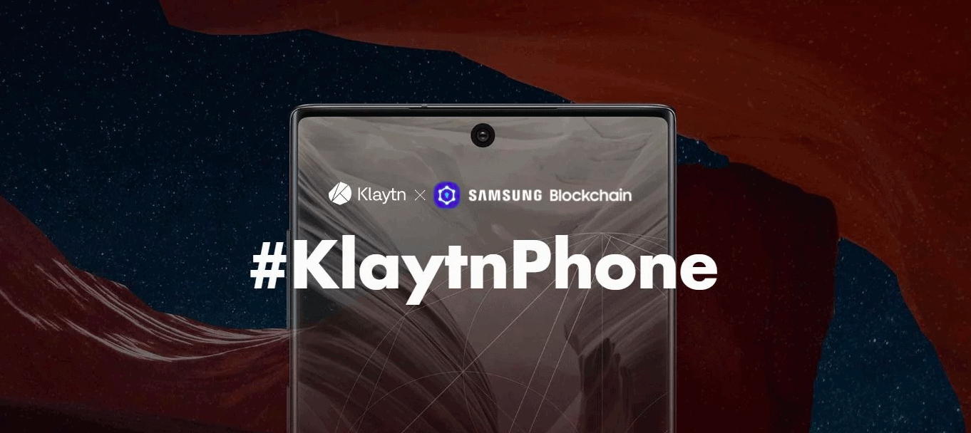 Samsung launched KlaytnPhone, crypto-supported mobile based on Note 10