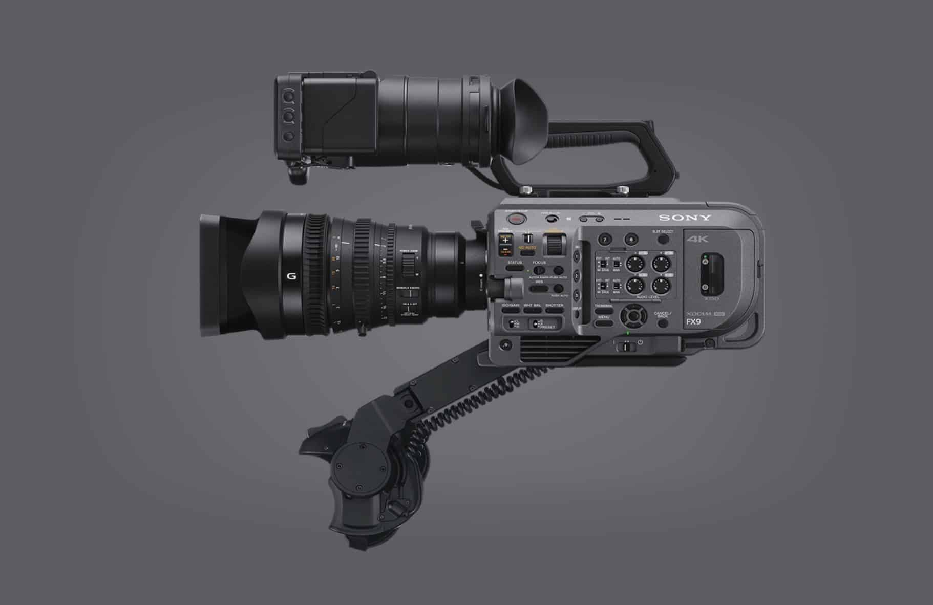 Sony FX9 6K Full-frame camcorder will be available towards the end of 2019