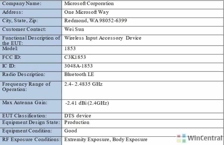 Surface Pro 7 stylus got certified