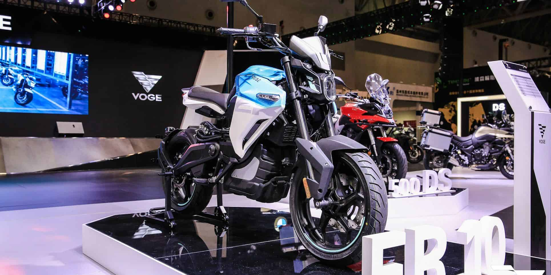 VOGE ER 10 electric motorcycle launched by VOGE in China