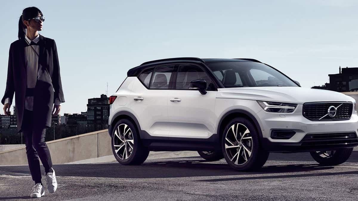 Volvo XC40 SUV electric version will be launched in October