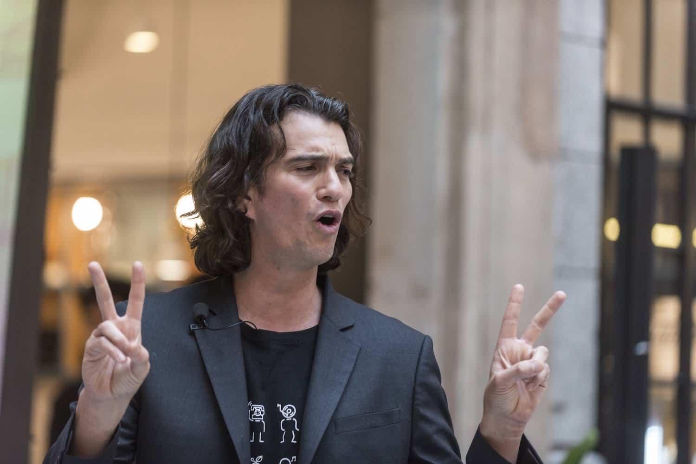 WeWork's founder Adam Neumann steps down as CEO