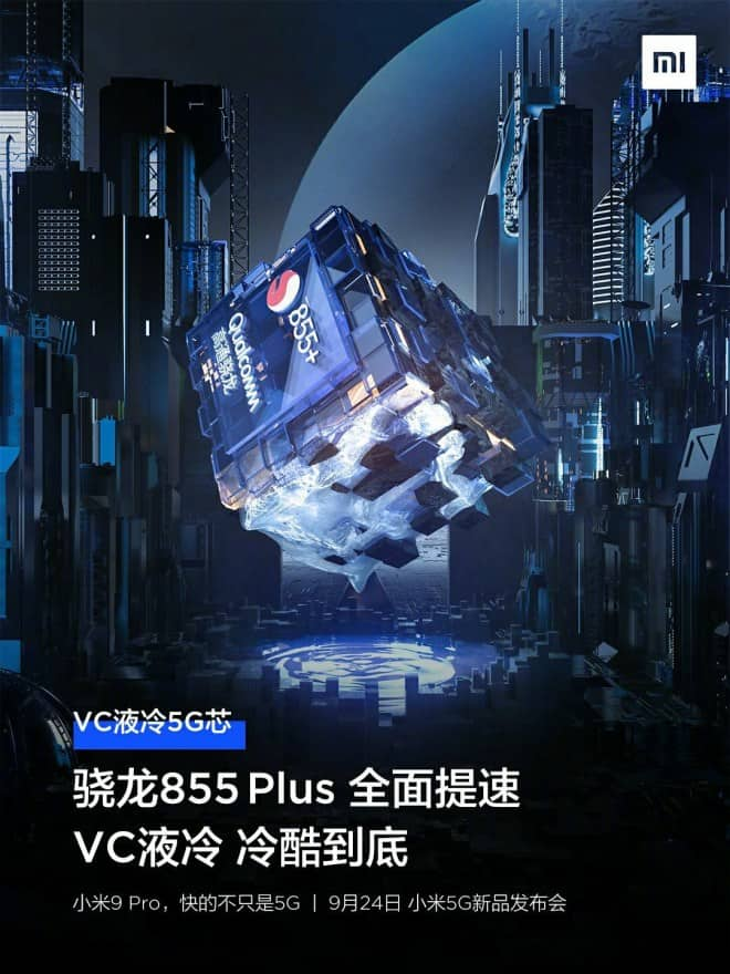 Xiaomi Mi 9 Pro 5G to feature VC Liquid Cooling technology