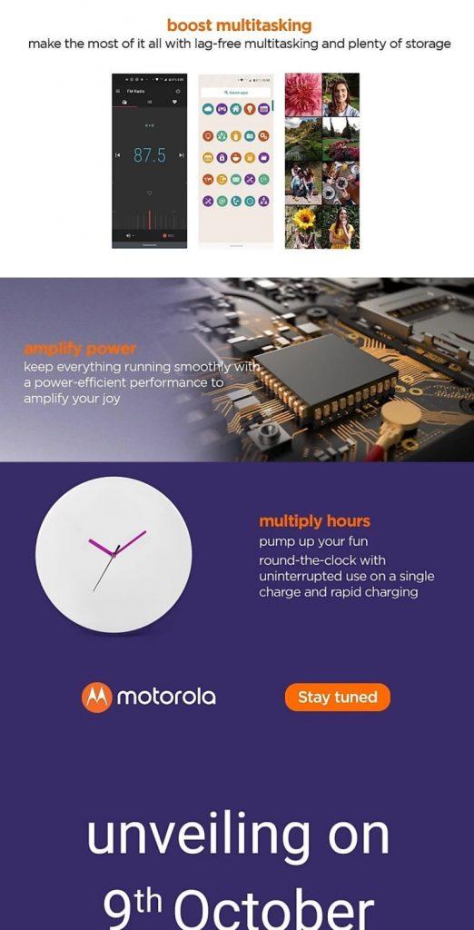 Motorola One Macro Launch Date
