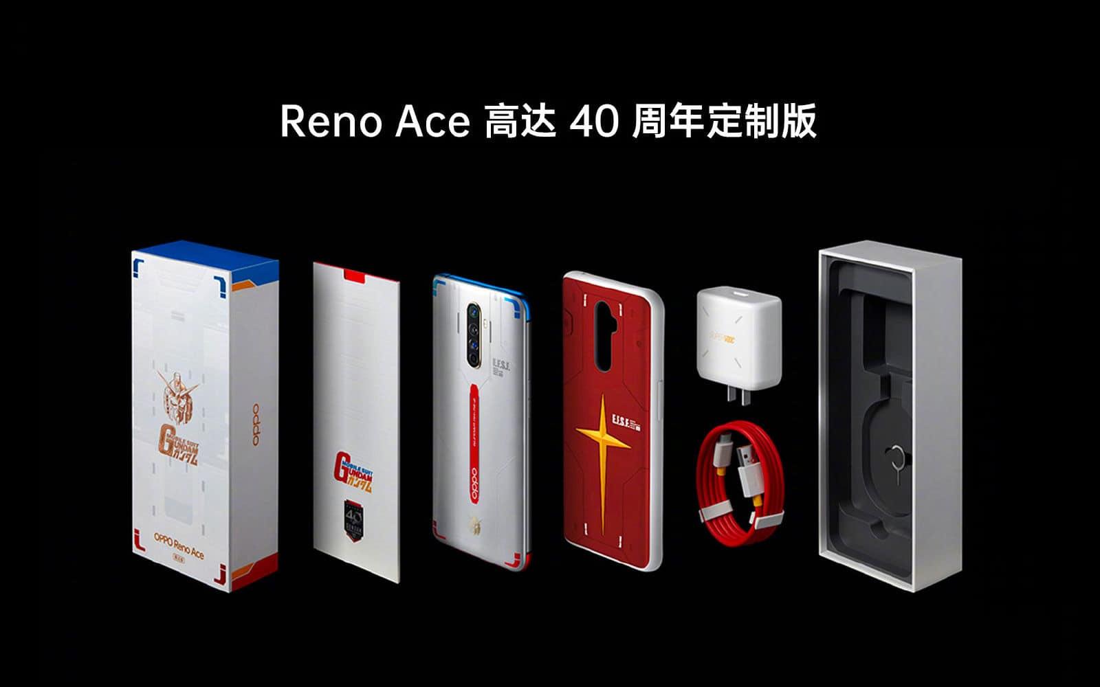 OPPO Reno Ace Gundam Edition