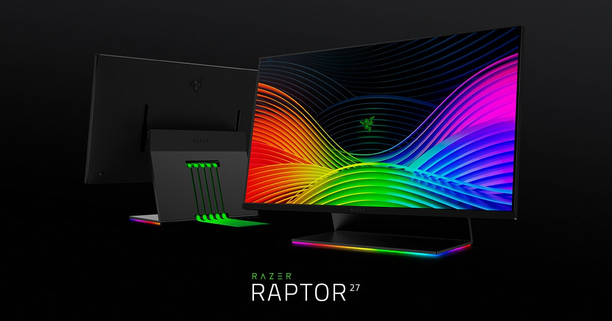 Razer announces 27-inch Raptor gaming monitor with 144Hz refresh rate