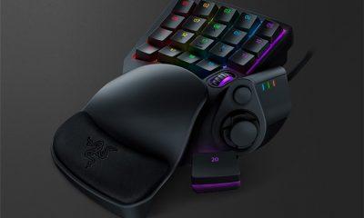 Razer launches Talos konjac one-handed gaming keyboard